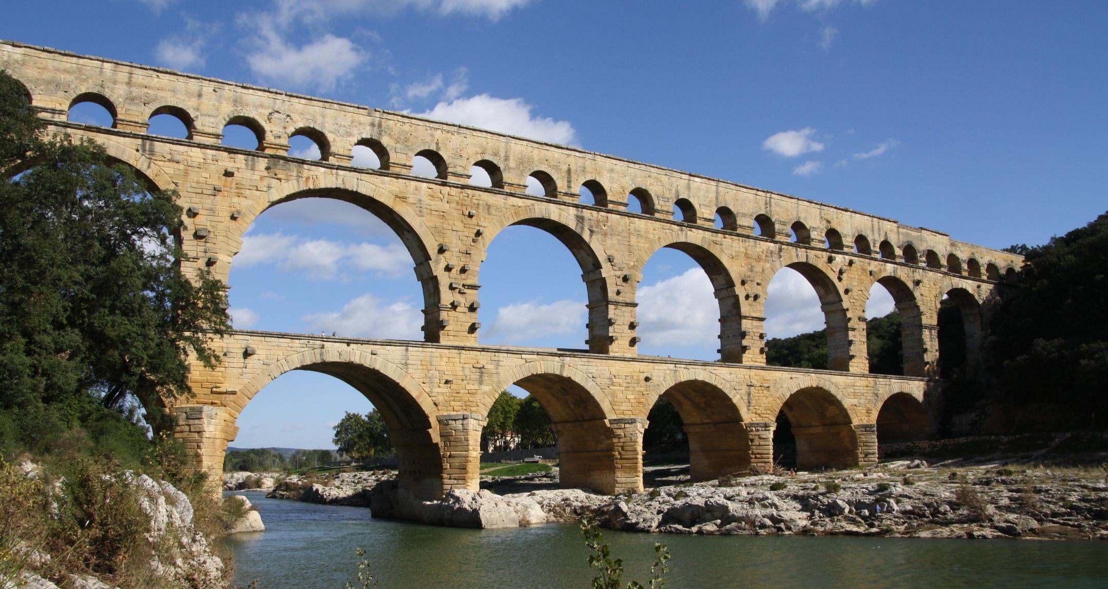 Pont Du Gard Built To Last Global Field Trip